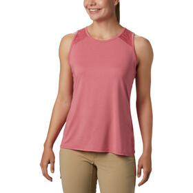 Columbia Peak To Point II Canotta Donna, rouge pink heather